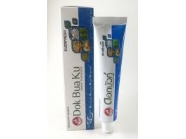 Зубная паста от бактерий и запаха тайская Dok Bua Ku everfresh Twin Lotus 100 гр