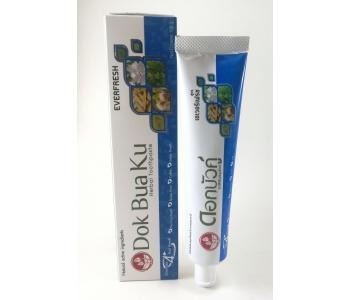 Зубная паста от бактерий и запаха Dok Bua Ku everfresh Twin Lotus (Твин Лотус) 100 гр