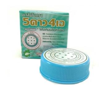 5Star4A тайская круглая зубная паста 25 гр