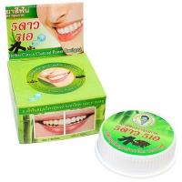 Тайская Зубная паста гвоздика и уголь от налета 5 stars 25 гр