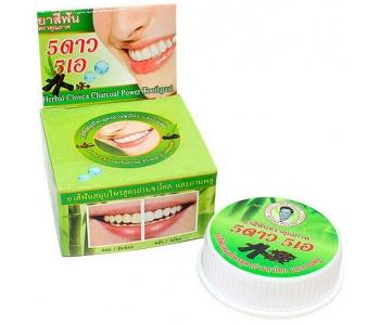 Зубная паста из Таиланда гвоздика и уголь от налета 5 stars 25 гр