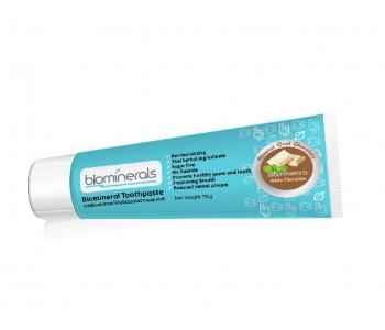 Минеральная зубная паста шоколадная Biominerals 70 гр