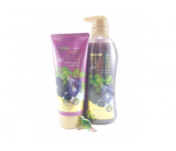 Шампунь и бальзам для лечения волос Anchan plus Mistine