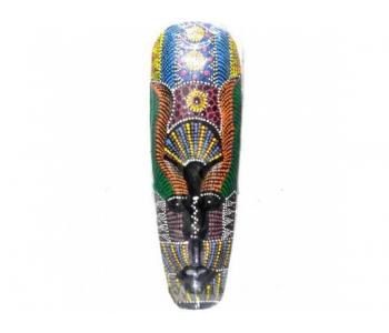 Деревянная настенная маска тайский стиль украшение