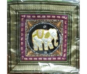 Наволочка декоративная с тайским декором