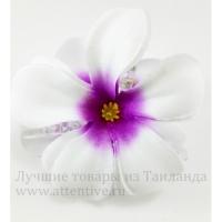 Крабик заколка для волос цветы тайские