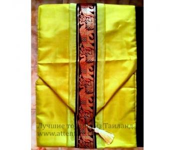 Декоративная шелковая полоса с кистями тайский текстиль