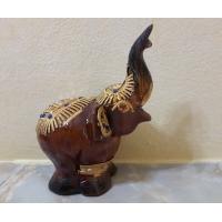 Деревянный слон украшение для интерьера