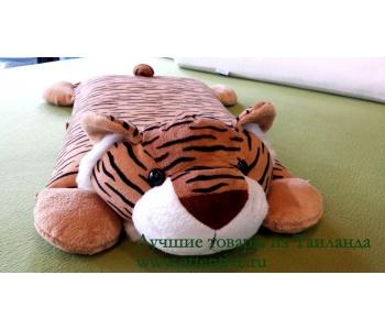 Подушка детская с мягкой игрушкой