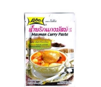 Masaman curry paste душистая приправа Lobo 50 гр