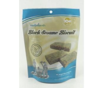 Бисквит с кунжутом черным Black Sesame biscuits 126 гр