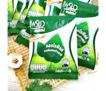 Хлорофилл порошок питьевой в пакетиках Preaw Chlorophyll 1 пакет