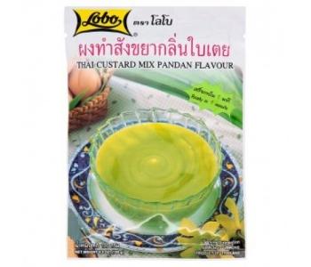 Натуральный крем-пудинг Lobo Thai Custard Pandan 120 гр