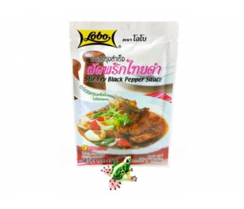 Пикантный тайский соус Черный перец 50 гр